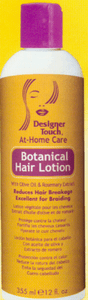 Designer Touch:  Natural Botanical Lotion 12oz
