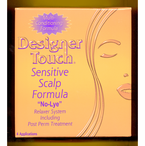 Designer Touch: Sensitive Scalp Relaxer System (4-Application Kit)