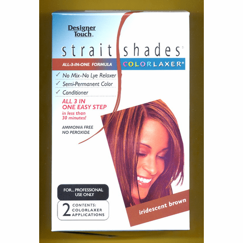 Designer Touch:  Strait Shades Colorlaxer (iridescent brown)  2-Appl