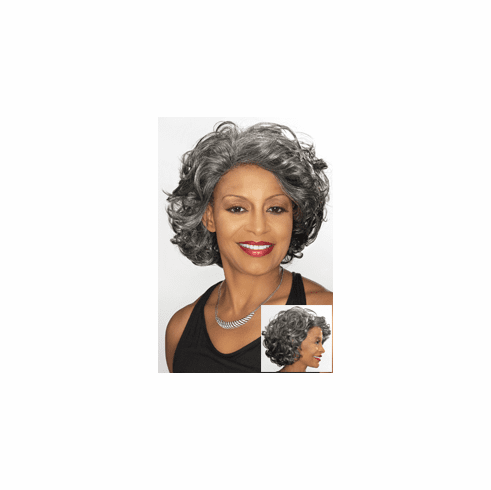 Foxy Silver Collection Lace Front Wig (Darlene 10592)
