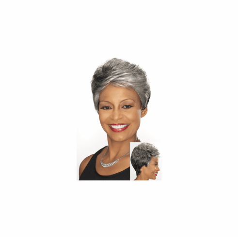 Foxy Silver Collection Lace Front  Wig  (Dorian 10593)