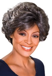 Foxy Silver Collection Synthetic Wig (Dolores 10445)