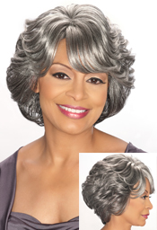 Foxy Silver Connection Synthetic Full Wigs