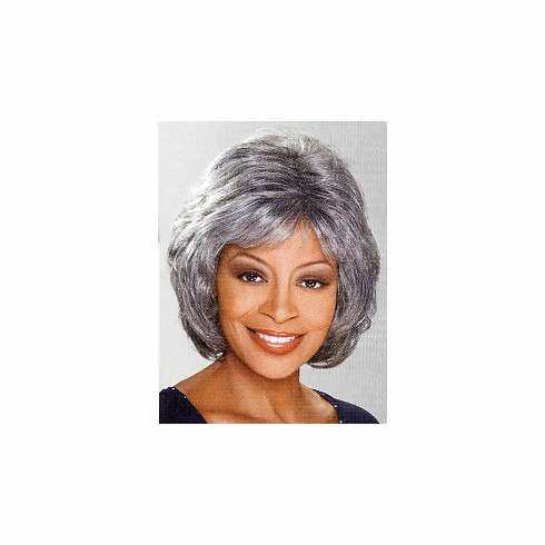 Foxy Silver Monofilament Synthetic Full Wig (Louise 10443)