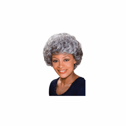 Foxy Silver Monofilament Synthetic Full Wig (Maxine)