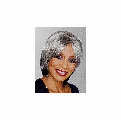 Foxy Silver Monofilament Synthetic Half Wig (Gloria 10463)
