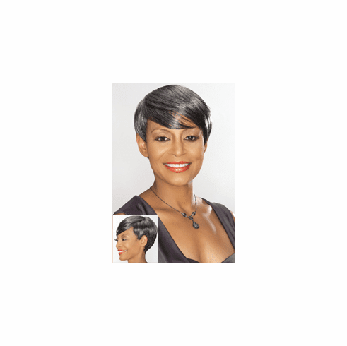 Foxy Silver Synthetic Full Wig (Arden 10641)