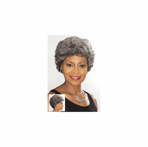 Foxy Silver  Synthetic Full  Wig (Becky 10627)