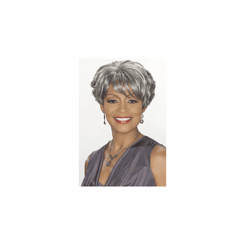 Foxy Silver Synthetic Full Wig  (Charlotte 10568)