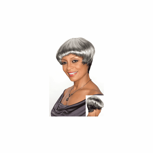 Foxy Silver Synthetic Full Wig (Consuela 10590)