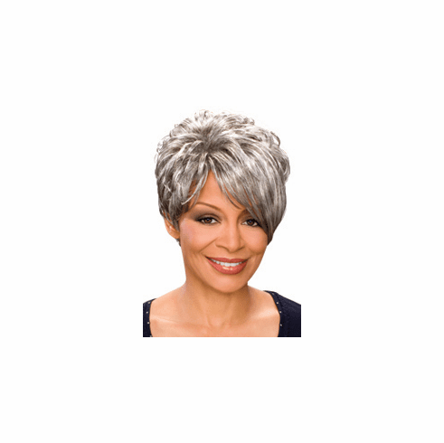 Foxy Silver Synthetic Full Wig  (Deborah 10426)