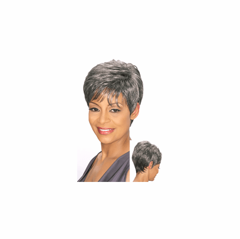 Foxy Silver Synthetic Full Wig (Edna 10660)