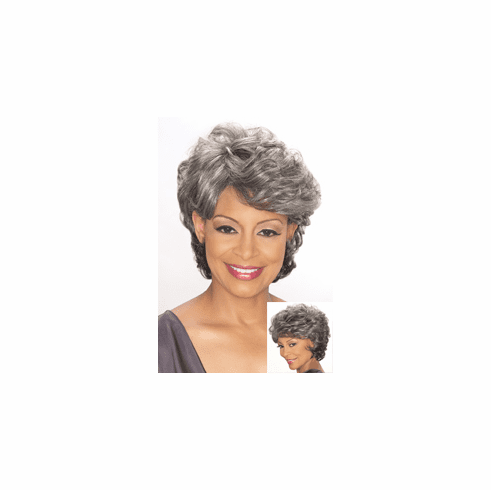 Foxy Silver Synthetic Full Wig (Emily 10651)