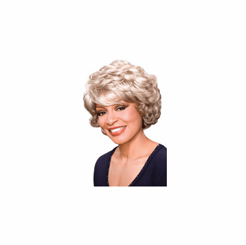 Foxy Silver Synthetic Full Wig (Lois 10434)