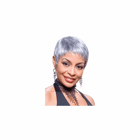 Foxy Silver Synthetic Full Wig (Mary 10361)