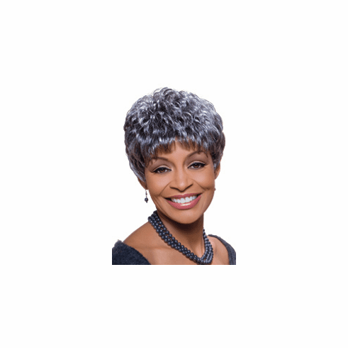 Foxy Silver Synthetic Full Wig (Sassy 10355)