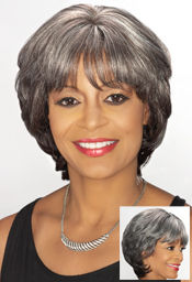 Foxy Sliver Collection Human Hair  Wig ( H/H Billie 13905)