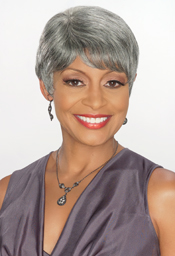 Foxy Sliver Collection Human Hair  Wig (H/H Desiree 13883)