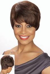 Foxy Sliver Collection Human Hair  Wig (H/H Jocelyn 13887)