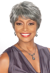 Foxy Sliver Collection Human Hair  Wig (H/H Priscilla 13884)