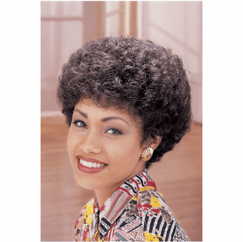 Hair Fashions Xpressions Synthetic Wig (Pepper)