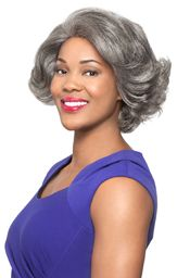 Foxy Silver Collection Lace Front Human Hair Wig (H/H Nori)