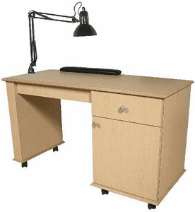 Jeffco E15 Elite Nail Table w/ Lamp & Padded Rest
