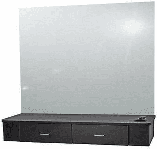 Jeffco  J03 Java Wall-Mounted Station --- Mirror not Included