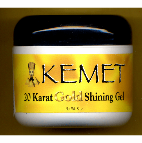 Kemet Gold 20 Karat Gold Shining Gel 8oz