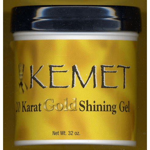 Kemet Gold: 20 Karat  Shining Gel 32oz