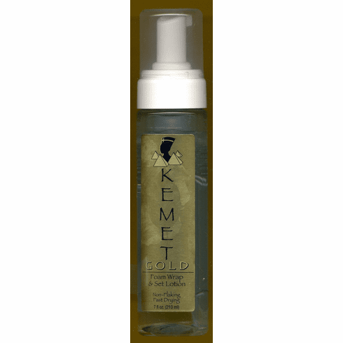 Kemet Gold: Foam Warp & Set Lotion  7 fl.oz.