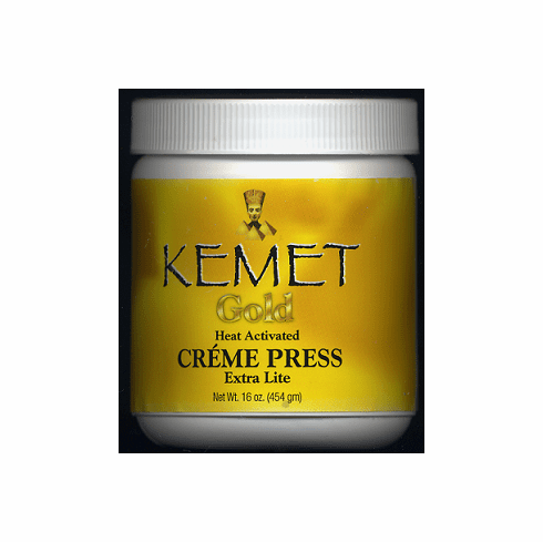 Kemet Gold Heat Activated  Creme Press Extra Lite 16oz.