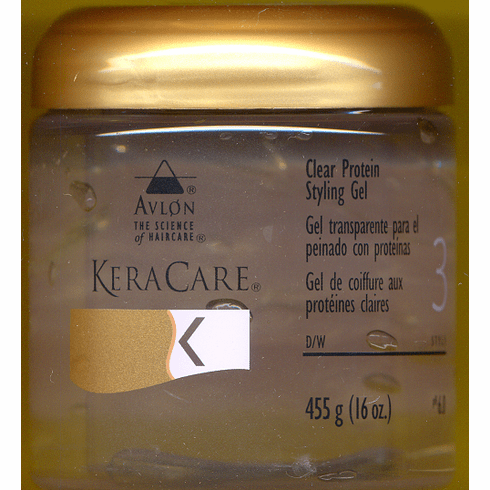 KeraCare Clear Protein Styling Gel 16 fl.oz