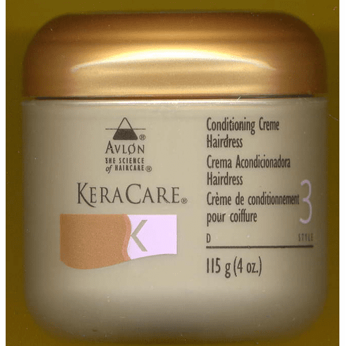 KeraCare Conditioning Creme Hairdress 4 fl.oz