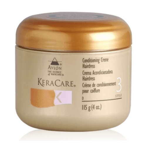 KeraCare Conditioning Creme Hairdress 4oz & 8oz