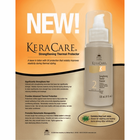 KeraCare Strengthening Thermal Protector 3.5 4 fl.oz