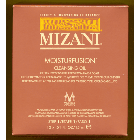 Mizani Moisturfusion Cleansing Oil  12 x .51 FL.