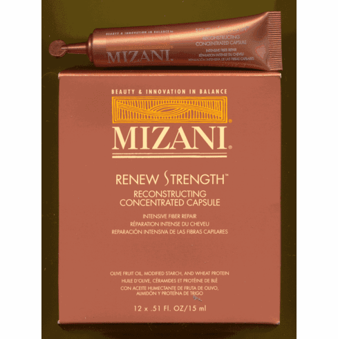 Mizani Step 3 - Renew Strength Reconstructing Concentrated Capsule  12x.51oz