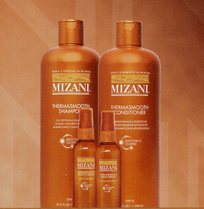 Mizani Thermasmooth Straightening System Steps 1-2-3 & 4
