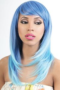 Motown Tress Synthetic Wigs Straight