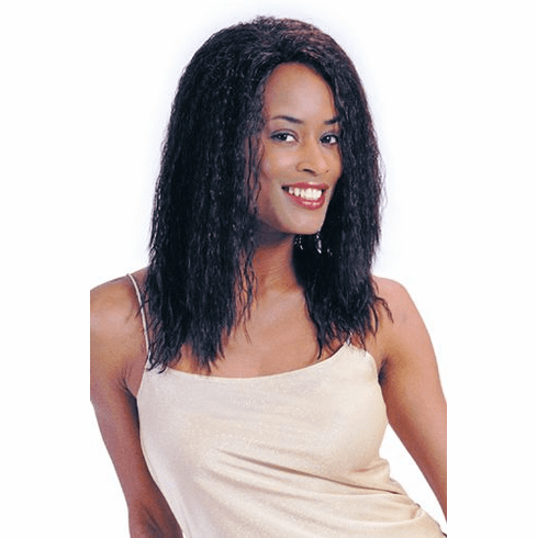 Motown Tress  Human Hair Wig Curly (H-6525 STELLA)