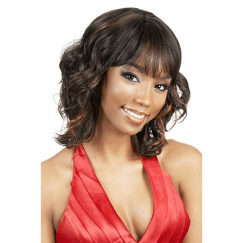 Motown Tress  Human Hair Wig Curly (H. FLITZ)