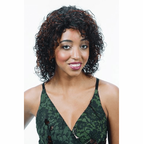 Motown Tress  Human Hair Wig Curly (H. JERI)
