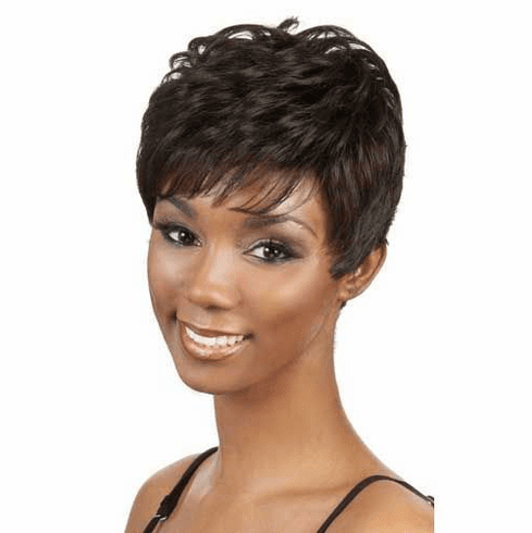 Motown Tress  Human Hair Wig Curly (H. LICA)