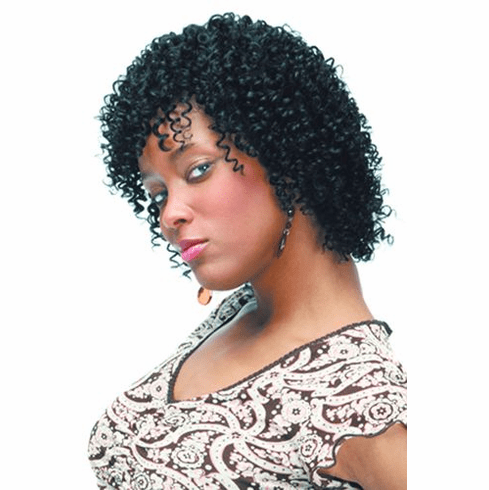 Motown Tress  Human Hair Wig Curly (H. PANSIE)