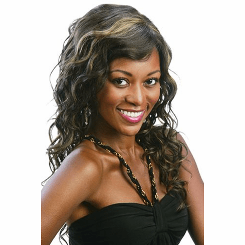 Motown Tress  Human Hair Wig Curly (HM-KATIE)