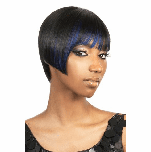 Motown Tress Human Hair Wig Straight (H. LOUIS)