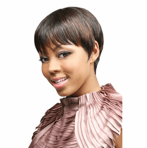 Motown Tress Human Hair Wig Straight (H. SADA)