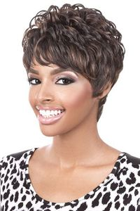 MOTOWN TRESS HUMAN HAIR WIGS CURLY