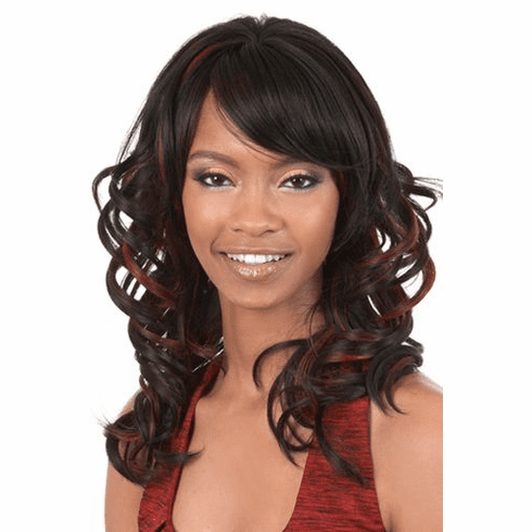 Motown Tress  Synthetic Wig Curly (FENDI)